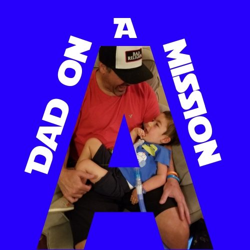 A Dad on a mission